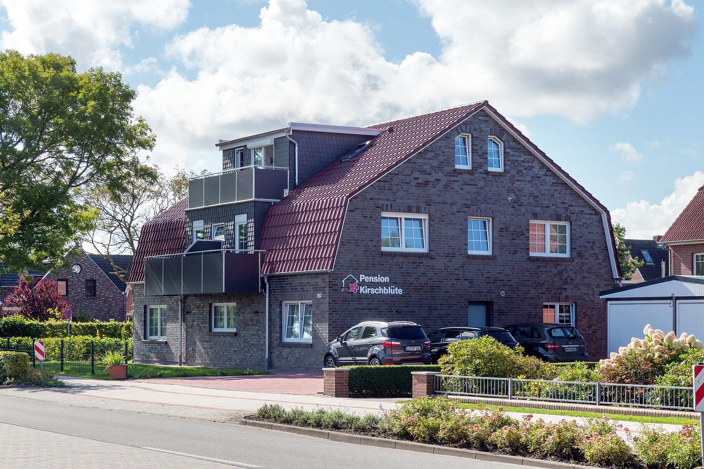 Das neue Apartment-Haus der Pension Kirschblüte